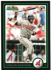 Carlos Santana 2010 Bowman Draft RC Rookie #BDP69 Cleveland Indians