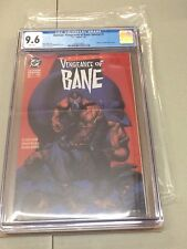 BATMAN VENGEANCE OF BANE #1 CGC GRADED 9.6 WHITE PAGES DC COMICS