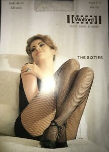 Wolford The Sixties Fishnet Tights Size: One Size Color: Off White  14306 - 10