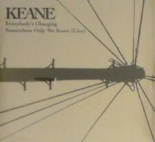 KEANE - EVERYBODY'S CHANGING CDs, 2004, FRANCE. SEALED