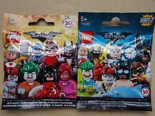NEW LEGO MINIFIGURE THE LEGO BATMAN MOVIE SERIES 1 & 2 +PACK & INS. 71017 PICK 1