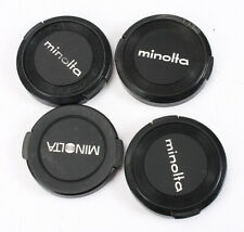 MINOLTA CAPS, FRONT LENS, VARIOUS SLIP ON, LOT OF FOUR/214610
