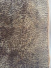 """Leopard Print Plush Material By Edinburgh Or Intercal 40"""" by 21"""" Plus More"""
