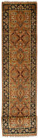 """Vintage Hand-Knotted Carpet 2'6"""" x 16'2"""" Traditional Oriental Wool Area Rug"""