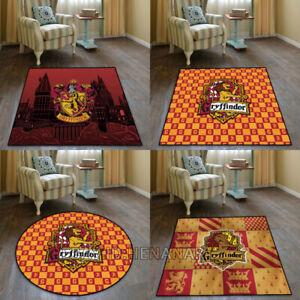 Harry Potter Gryffindor Carpet Floor Mat Home Area Rugs Carpet Multi-function
