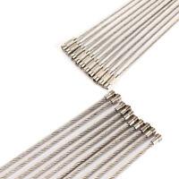 20pc Edelstahl Spiraldraht Schlüsselringe Ring Armbänder Schlüsselanhänger 15cm