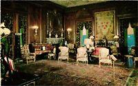 Vintage Postcard - The Drawing Room Of Vanderbilt Mansion New York NY #3793