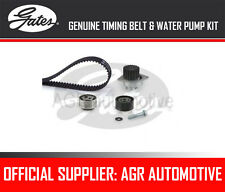 GATES TIMING BELT AND WATER PUMP KIT FOR PEUGEOT 106 I 1.5 D 54 BHP 1994-96