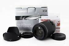 Tamron B018 18-200mm f/3.5-6.3 II VC Di Lens for Canon  [Exc+++] from Japan #111