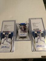MAX MUNCY 2019 Immaculate & Topps Five Star Card Lot Auto's Dodgers Autograph
