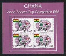 1966 Ghana Scott #263a - World Cup Soccer Championship Souvenir Sheet - MNH