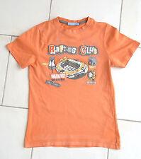 T.shirt garçon 10 ans orange KIABI 100% coton manches courtes