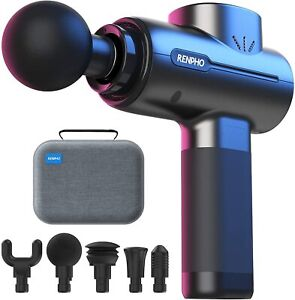 Massage Gun Deep Tissue Powerful Percussion Muscle Pain Relief Recovery Portable