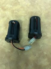 Lot of (2) Metz 45-39  Flash Battery Holder Wired for Tamiya battery
