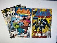 The Punisher lot of 4 Comics: (1992) 66,67,69 (1996) 11 Marvel