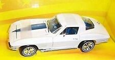 1967 Corvette Stingray L-71 Ermine White 1:18 Ertl American Muscle 32274