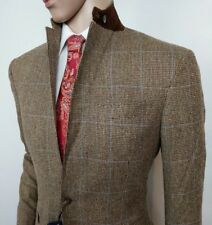 Ralph Lauren Mens Suit Sport Jacket Pure Silk Check 40S IT 50S New RRP£495 Italy