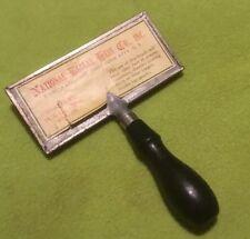 Antique ~ Fur Glazing Brush ~ National Bella's Hess Co. ~ Wire Brush