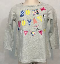 New/Tags 18 Month First Impressions Baby Girl's Graphic 100% Cotton LS T-Shirt