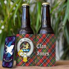 Innes Clan Drink Cooler - Scottish Stubby Holder - Beer Bottle Can