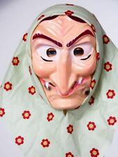 Hexenmaske mit Kopftuch 02