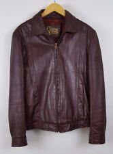Goya de Espana leather jacket mens size 40 vintage bomber style