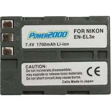 Power2000 EN-EL3e EN-EL3 Battery for Nikon D200, D300, D70, D30, D80 SLR