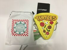Loot Crate EXCLUSIVE - Ninja Turtles Pizza Purse Handbag with Chain Strap NEW