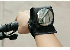 UK Cycling Bicycle Bike Wrist Rearview Mirror Guards Wristbands Safety Back Eye