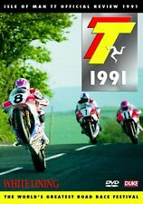 Isle of Man TT - Official Review 1991 (New DVD) White Lining