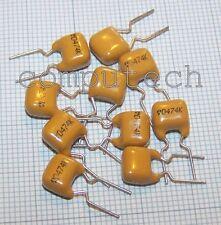 25 pezzi Condensatore ceramico MLCC 470nF 70V 10% COG(NPO) THOMSON-CSF