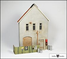 Relieffassade + Bauzaun + Zubehör- Fertigmodelle - 1:32