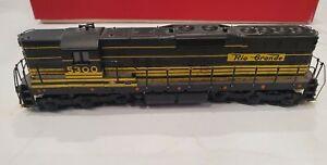 HO Diesel No 5300 Denver Rio Grande in Yellow