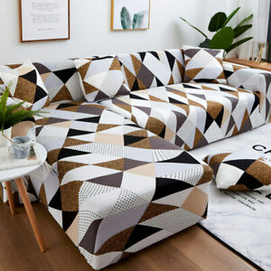 Sofa Cover Set Geometric Couch Cover Elastic Sofa Cover Room L ShapedSofa Cover