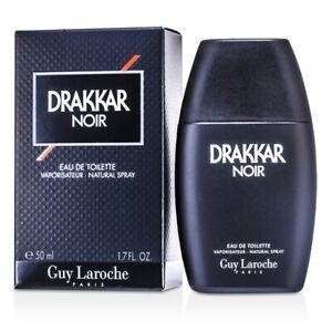 NEW Guy Laroche Drakkar Noir EDT Spray 1.7oz Mens Men's Perfume