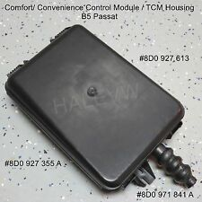 VW B5 Passat Transmission Convenience Control Module TCM Housing TCU 8D0927355A