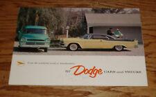 Original 1957 Dodge Car & Truck Full Line Sales Brochure 57 Coronet Custom Royal