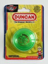 Duncan Imperial Yo-Yo GREEN (The Original. World's #1) Brand New Factory Sealed