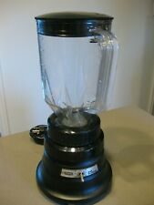 Waring Commercial Bar Blender Bc150 With Container Very Clean