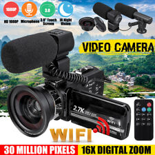 3'' HD 1080P 16X ZOOM Digital WiFi Video Camera  IR Night Vision DV Camcorder
