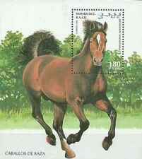 Timbre Chevaux Sahara occidental ** lot 27059