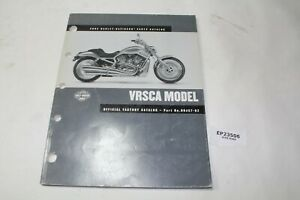 2002 V-Rod VRSC Harley parts catalog 99457-02 WOW!!!!!!!!!! manual book EPS23506