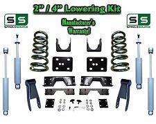 "02 - 08 Dodge Ram 1500 V8 2"" / 4"" Lowering Drop Kit 2WD Coils Flip SHOCKS, NOTCH"