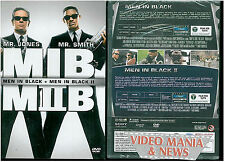 Men in black +  Men in black 2 dvd (cofanetto 2 dischi)**slip case**