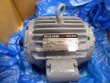 Reuland 0240H-1LLN-0003 Electric Torque Motor Double Shaft 3 PH 145TZ Frame 460V