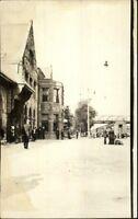 Street Scene & Buildings - Lebanon, PA ? Gretna, PA Written on Back RPPC