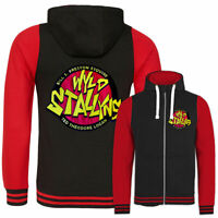 Mens Womens Bill N Teds Wyld Stallyns EMBROIDERED Varsity Face The Music Hoodie