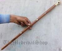 """New 24"""" Brass Designer Victorian Collector's Walking Stick Vintage Cane Wooden"""