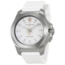 Victorinox I.N.O.X. V White Dial White Rubber Ladies Watch 241769