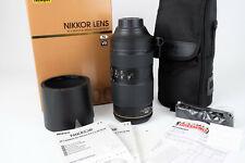 Nikon Nikkor AF-S 80-400 mm f/4.5-5.6 ED VR